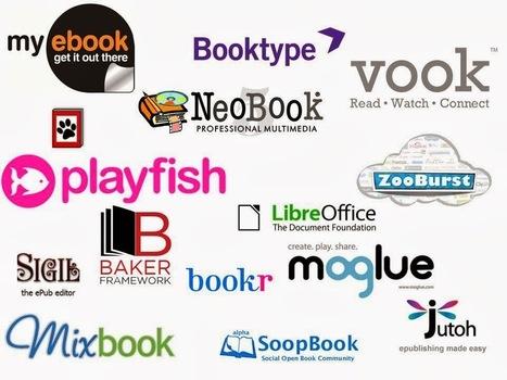 Las TICs y su utilización en la educación : Libros digitales ganan más espacio 16 herramientas para crearlos. | Varias herramientas digitales | Scoop.it