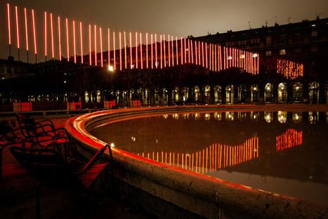 IKEA crée une aurore boréale dans le Jardin du Palais Royal | streetmarketing | Scoop.it