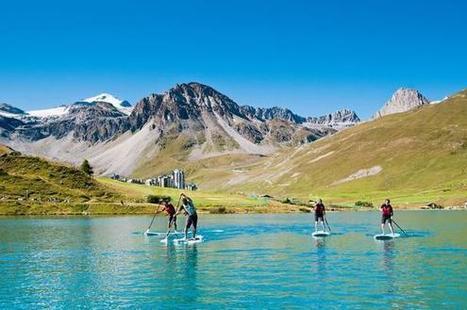 Tignes : avec le Stand Up Paddle, c'est Hawaï à la montagne ! | Savoie | Scoop.it