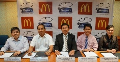 McDonalds inks contract with Maxicare | Maxicare Phiippines | Scoop.it