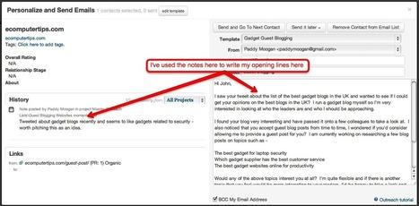 Guest Blogging Link Building using BuzzStream - Paddy Moogan Blog | Digital Marketing | Scoop.it