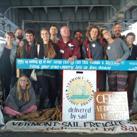 The Vermont Sail Freight Project | Food Culture Community | Scoop.it