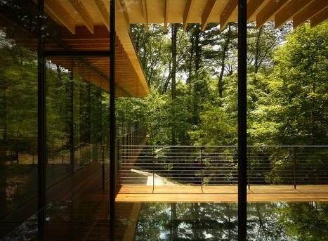 Glass/Wood House | Kengo Kuma & Associates | New Canaan, Connecticut | Record Houses | Architectural Record | CRGP_ltd | Scoop.it