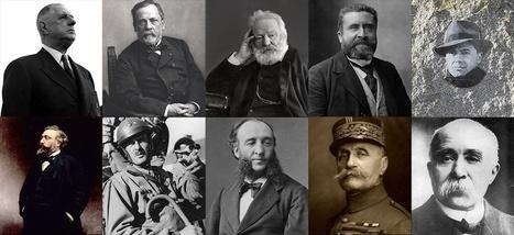 Ces 200 personnalités sont les stars des rues françaises | La valise en papier | Scoop.it