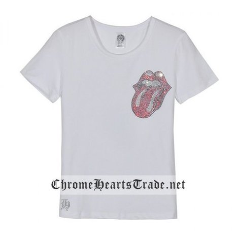 Chrome Hearts Short Sleeves White Diamonds Big Horseshoe and Lips and Tongue T-Shirt [CH T Shirt] - $150.00 : Chrome Hearts Trade | Buy Chrome Hearts Online Shop | Headphones Sale Online Cheap Beats By Dre | Scoop.it