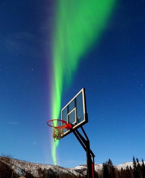 #aurore boréale en #Alaska : shoot à 3 points | Hurtigruten Arctique Antarctique | Scoop.it