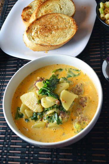 #Recipe / Zuppa Toscana | clean eating recipes | Scoop.it