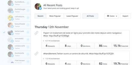 #Buffer. Gérer et programmer vos publications sur les réseaux sociaux | Time to Learn | Scoop.it
