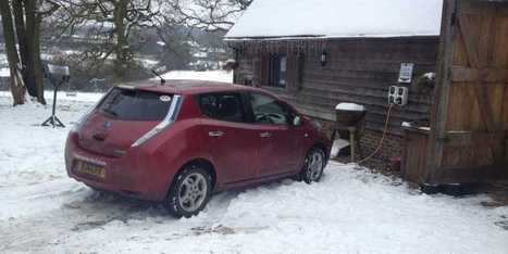 Study Finds Electric Car Range Drops 57% In Cold Weather | Real Estate Plus+ Daily News | Scoop.it