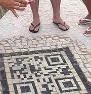 Sidewalk Design To Provide QR Codes With Tourist Information   Geek Tech   Scoop.it