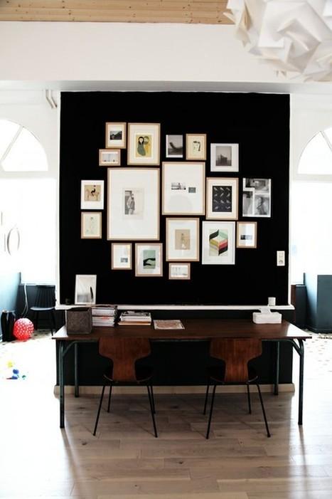 Bureau | Réutilisez votre ancienne table à manger… | décoration & déco | Scoop.it