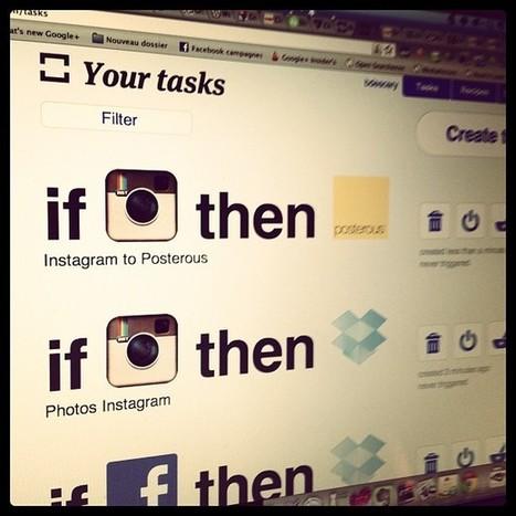 Automatisez vos processus sur le Web avec ifttt | WEB 2.0 etc ... | Scoop.it