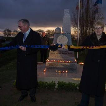 La Trêve de Noël commémorée à Messines avec l'inauguration d'un nouveau monument | Nos Racines | Scoop.it