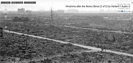 Hiroshima After the Atomic Bomb | Geography 400 Blog | Scoop.it