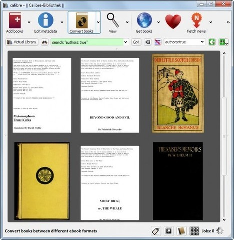 Calibre 1.0 ebook manager released - Ghacks Technology News | e-books | Scoop.it