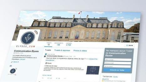 L'Elysée se dote d'un compte Twitter pour démonter les rumeurs | Médiathèque SciencesCom | Scoop.it
