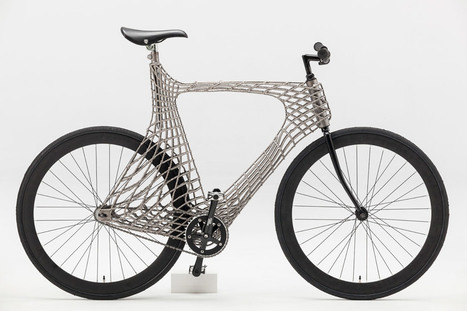 Arc Bicycle, un vélo d'acier imprimé en 3D - 3Dnatives | Ressources pour la Technologie au College | Scoop.it
