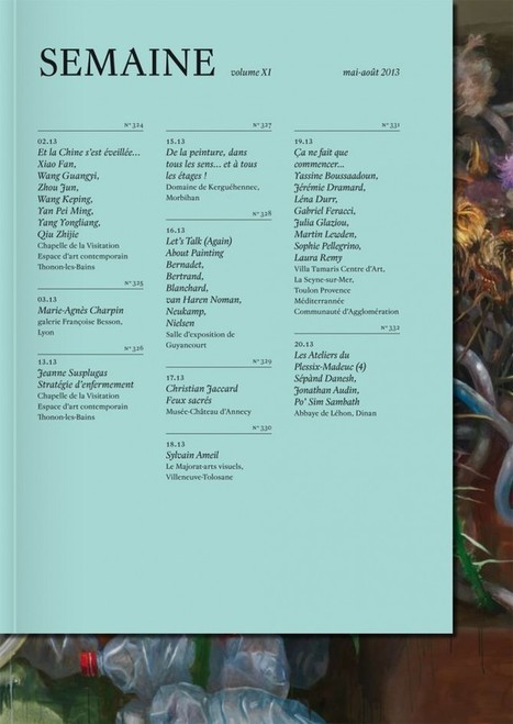 Semaine, vol. XI | PUBLICATION DES MUSEES DE FRANCE | Scoop.it