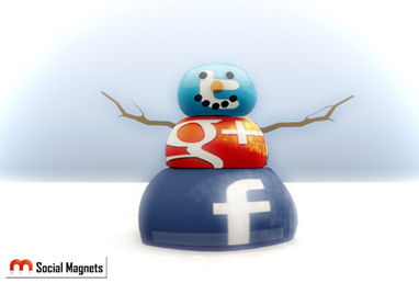 Building a Social Media Snowman | Social MagnetsSocial Magnets | Inspiring Social Media | Scoop.it