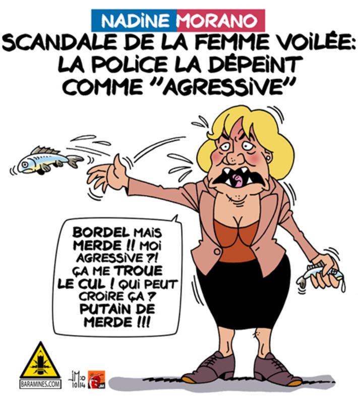 Femme voilée : scandale de Nadine Morano | Baie d'humour | Scoop.it