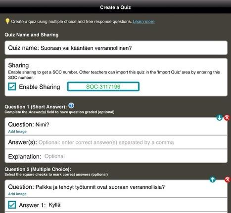 Socrative tehtäviä jakoon | Tablet opetuksessa | Scoop.it