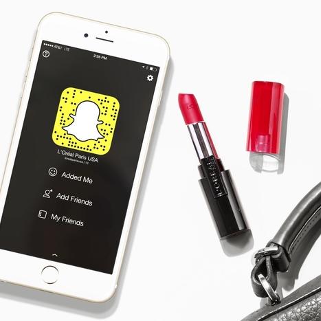 L'Oréal propose des achats intégrés sur Snapchat | Usages professionnels des médias sociaux (blogs, réseaux sociaux...) | Scoop.it