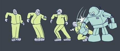 Un mec qui danse comme un robot d'une manière bluffante   16s3d: Bestioles, opinions & pétitions   Scoop.it