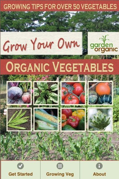 Grow your own organic vegetables | Garden apps for mobile devices | Scoop.it