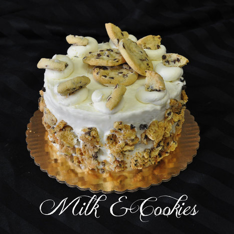 Milk and Cookies Cake | Cakes for all occasions | Scoop.it