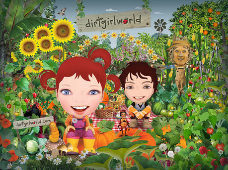From children's TV to transmedia: dirtgirlworld | Art - Craft - Design- Net | Scoop.it