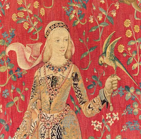 Le mystérieux sixième sens de la Dame à la Licorne | Histoire d'Intuition | Scoop.it
