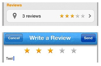 Drop Open Source iOS Control For Easily Adding A Star Ratings View | iOS Dev | Scoop.it