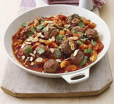 Speedy Moroccan meatballs recipe - Recipes - BBC Good Food | Arte Maroko | Scoop.it