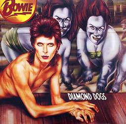 Glam with Fangs: Bowie's Diamond Dogs Reissued | B-B-B-Bowie | Scoop.it