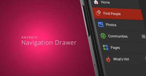 Build Slide-Out Menu Like Facebook Using Navigation Drawer Android | Mobile Web Development | Scoop.it