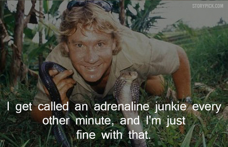 11 Quotes By Steve Irwin That Show His Compassion Towards Life - Blog | DailyBuzzes | Scoop.it