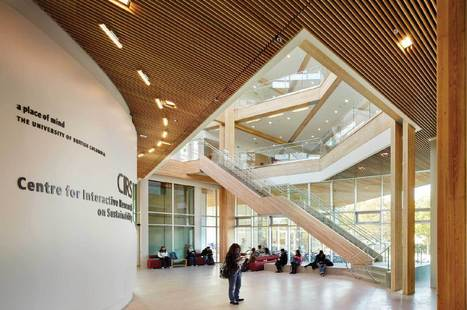 Centre for Interactive Research on Sustainability - Designed to be the most sustainable building in North America | Sustainable Architecture and Building Magazine | Luxe et HiFi | Scoop.it