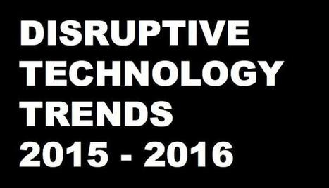 25 Disruptive Technology Trends for 2015 - 2016 - Brian Solis | The Future of Social Media: Trends, Signals, Analysis, News | Scoop.it