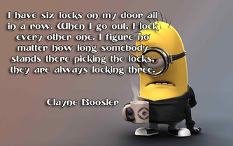 funny quotes (I have six locks on my door ..) | FULL HD (High Definition) Wallpapers, Pictures For Desktop Backgrounds & Facebook Timeline Cover | Quotes photos For Facebook | Scoop.it