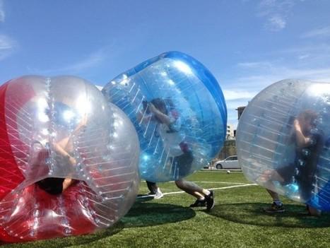 Come Out & Play transforme DUMBO en une grande aire de jeux le 8 juillet - French Morning | Aires de jeux | Scoop.it