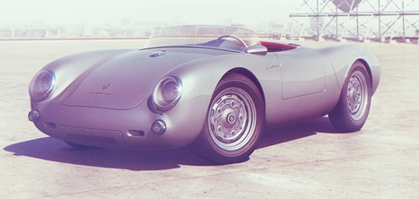 Classic Porsche 550 by Additive Studios | Photography News Journal | Scoop.it
