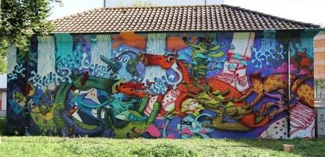 ALEXONE – NEW MURAL IN BASEL'2012 | GRAFFART | World of Street & Outdoor Arts | Scoop.it