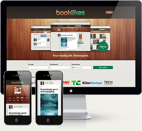 BookLikes : un nouveau site pour partager ses livres | Livre & Numérique | Scoop.it