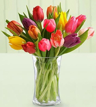 12 pcs Colorful Tulips deliver to your Mom on Mothers Day – Colorful_Tulips_Bouquets#001 | mother's day flower | Scoop.it