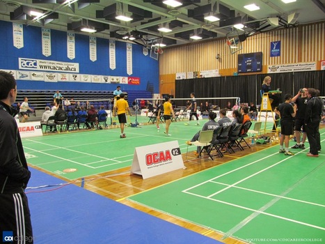 CDI College: Edmonton North Students Massage CCAA Badminton National Championship Participants at NAIT | Events at CDI College | Scoop.it