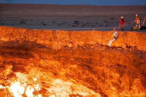 The First Man to Descend into Turkmenistan's Door to Hell | Quite Interesting News | Scoop.it