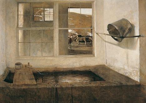 Finding Refuge in Wyeth's #Windows. #painting #art   Luby Art   Scoop.it