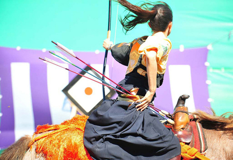 Overbrilliant japanese traditional ceremony,流鏑馬 (yabusame). | Japanese Traditional | Scoop.it