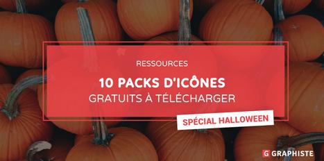 10 packs d'icônes gratuits à télécharger pour halloween - Graphiste.com | Web Increase | Scoop.it