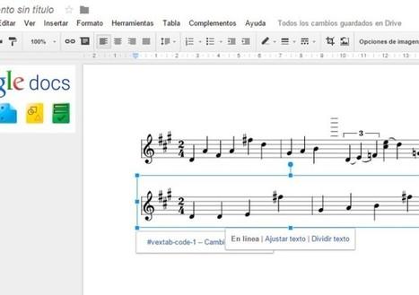Cómo escribir música con Google Docs | Educació Musical | Scoop.it